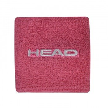 frotki tenisowe HEAD WRISTBAND 2.5'' x2  light pink / TAH-043/LP