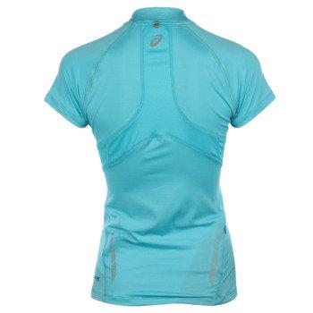 koszulka do biegania damska ASICS MILE SHORTSLEEVE 1/2 ZIP TOP