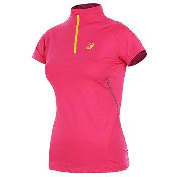 koszulka do biegania damska ASICS SPEED SHORTSLEEVE 1/2 ZIP / 114466-0211