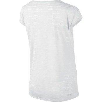 koszulka do biegania damska NIKE DRI FIT COOL BREEZE SHORTSLEEVE TOP / 644710-100
