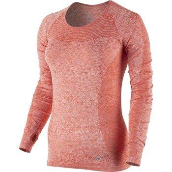 koszulka do biegania damska NIKE DRI-FIT KNIT LONG SLEEVE / 718582-696