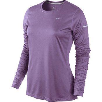 koszulka do biegania damska NIKE MILER LONGSLEEVE TOP / 519833-522