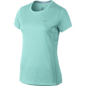 koszulka do biegania damska NIKE MILER SHORTSLEEVE / 686911-466