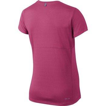 koszulka do biegania damska NIKE MILER SHORTSLEEVE / 686911-617