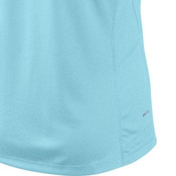 koszulka do biegania damska NIKE MILER SHORTSLEEVE CREW TOP / 519829-417