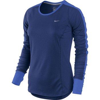 koszulka do biegania damska NIKE RACER LONGSLEEVE TOP / 520278-455