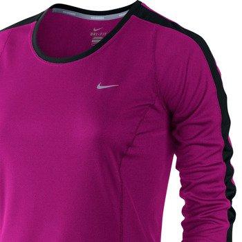 koszulka do biegania damska NIKE RACER LONGSLEEVE TOP / 520278-513