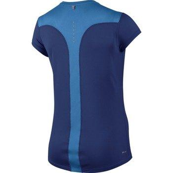 koszulka do biegania damska NIKE RACER SHORT SLEEVE / 645443-459