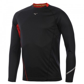 koszulka do biegania męska MIZUNO WARMALITE LONGSLEEVE TEE