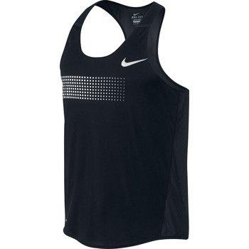koszulka do biegania męska NIKE DISTANCE SINGLET / 547673-010