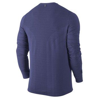 koszulka do biegania męska NIKE DRI-FIT CONTOUR LONGSLEEVE / 683521-508