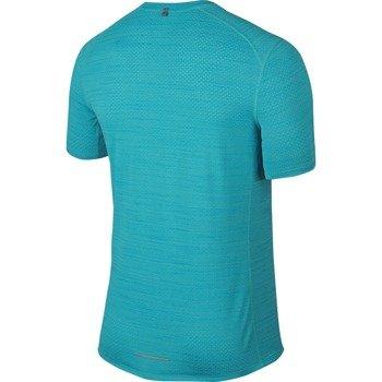 koszulka do biegania męska NIKE DRI-FIT COOL MILER SHORT SLEEVE / 718348-418