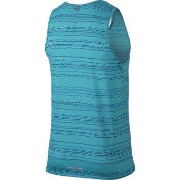 koszulka do biegania męska NIKE DRI-FIT COOL TAILWIND STRIPE TANK / 724805-418