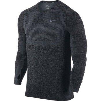 koszulka do biegania męska NIKE DRI-FIT KNIT LONG SLEEVE / 717760-065