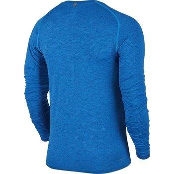 koszulka do biegania męska NIKE DRI-FIT KNIT LONG SLEEVE / 717760-458