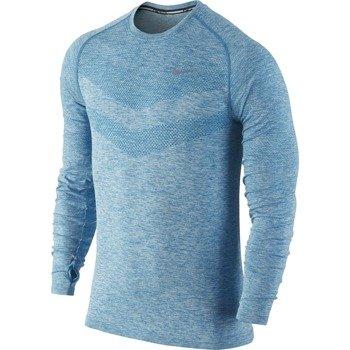 koszulka do biegania męska NIKE DRI-FIT KNIT LONGSLEEVE / 642124-498