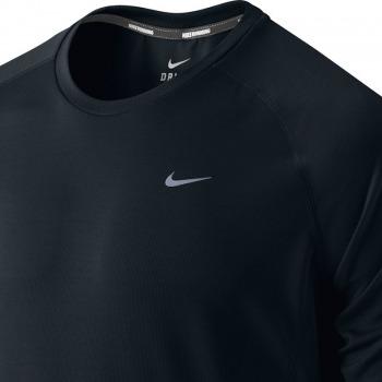 koszulka do biegania męska NIKE MILER LONGSLEEVE UV (TEAM) / 519700-010