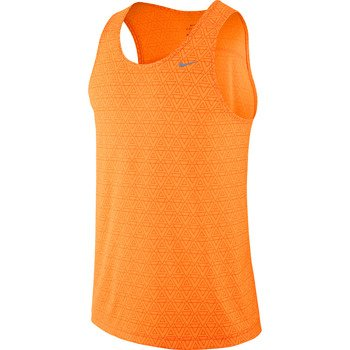 koszulka do biegania męska NIKE MILER PRINTED SINGLET