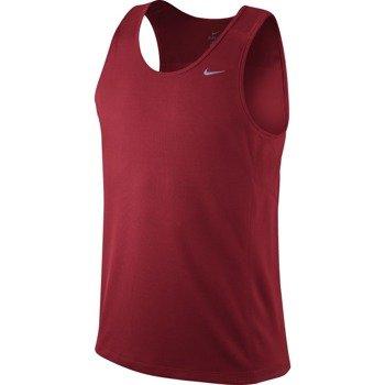 koszulka do biegania męska NIKE MILER SINGLET (TEAM) / 519694-687