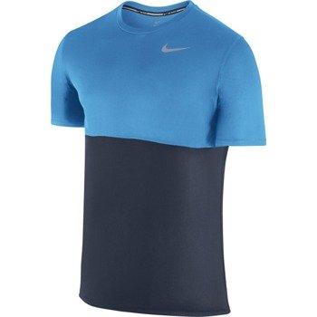 koszulka do biegania męska NIKE RACER SHORT SLEEVE / 644396-451