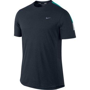 koszulka do biegania męska NIKE RACER SHORTSLEEVE / 543231-475