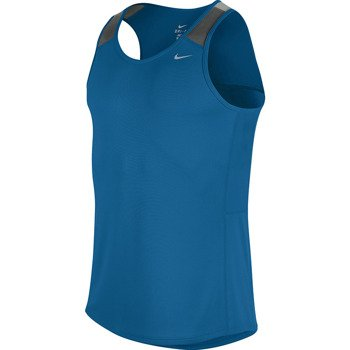 koszulka do biegania męska NIKE RACER SINGLET / 543229-418