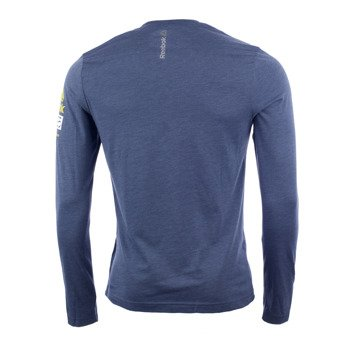 koszulka do biegania męska REEBOK SPARTAN LONG SLEEVE BRAND TEE / AX9594