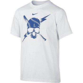koszulka sportowa chłopięca NIKE LEG BASEBALL SKULL TEE / 739993-100