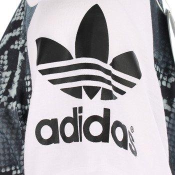 koszulka sportowa damska ADIDAS LA PRINTED MIX TEE / AB2626