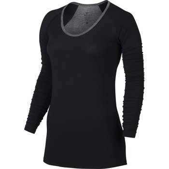 koszulka sportowa damska NIKE LUX STUDIO PRO TOP / 742795-010