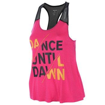 koszulka sportowa damska REEBOK DANCE GRAPHIC TANK 2 / B89155