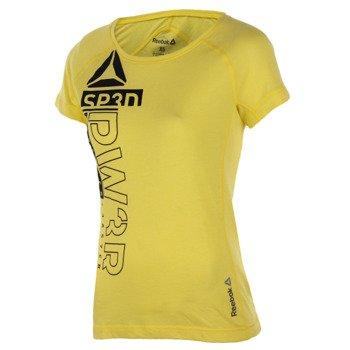 koszulka sportowa damska REEBOK ONE SERIES TRIBLEND CREW / B85396