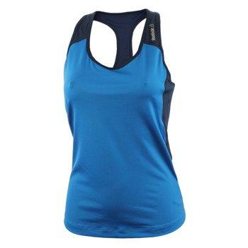 koszulka sportowa damska REEBOK WORKOUT READY RACERBACK LONG BRA TOP / AJ3449