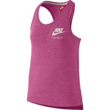 koszulka sportowa dziewczęca NIKE GYM VINTAGE TANK / 728423-616