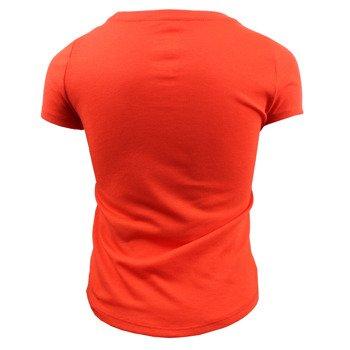 koszulka sportowa dziewczęca NIKE TRI BLEND SNEAKER LOVE TEE / 742125-696