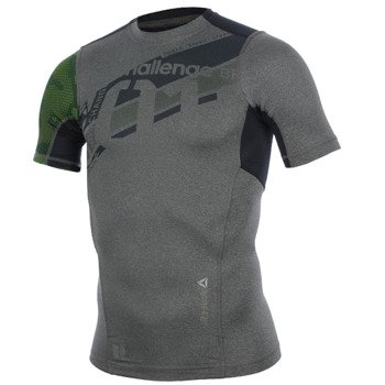 koszulka sportowa męska REEBOK DELTA SHORTSLEEVE COMPRESS