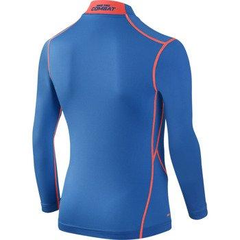 koszulka sportowa termoaktywna juniorska NIKE PRO COMBAT CORE COMPRESSION LONGSLEEVE MOCK / 522803-407