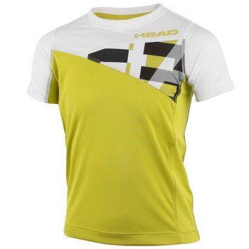 koszulka tenisowa chłopięca HEAD ARNE B T-SHIRT / 816235 LIWH