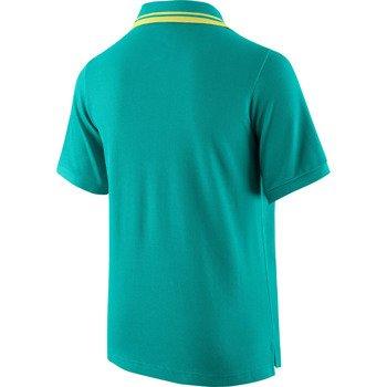 koszulka tenisowa chłopięca NIKE CLUB SOLID PIQUE SHORTSLEEVE POLO / 588780-341