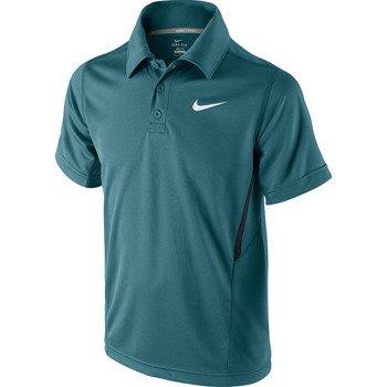 koszulka tenisowa chłopięca NIKE N.E.T. UV SHORT SLEEVE POLO / 522356-397