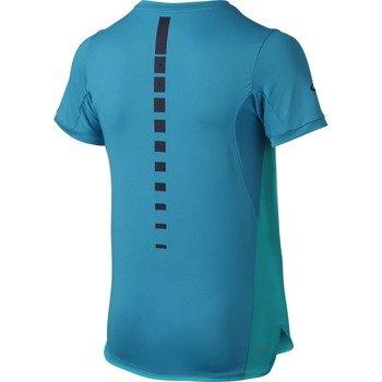 koszulka tenisowa chłopięca NIKE PREMIER RAFA CREW / 802145-418