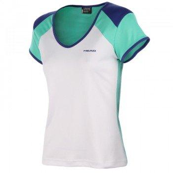 koszulka tenisowa damska HEAD VICTORIA V-NECK