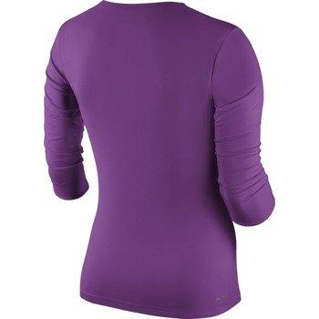 koszulka tenisowa damska NIKE PURE LONGSLEEVE TOP / 683150-513