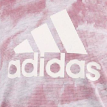 koszulka tenisowa dziewczęca ADIDAS ESSENTIALS ALLOVER PRINTED TEE / AJ6551