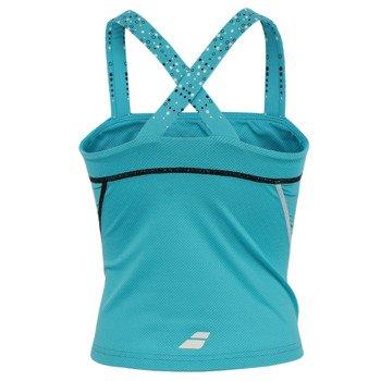 koszulka tenisowa dziewczęca BABOLAT TANK MATCH PERFORMANCE / 42S1552-111
