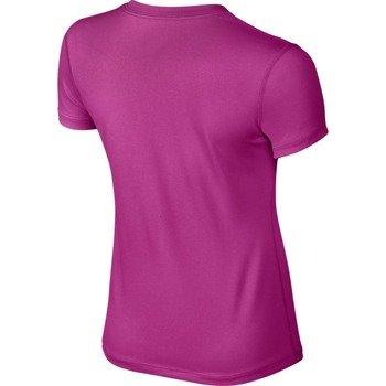 koszulka tenisowa dziewczęca NIKE LEGACY SWOOSH FILL 2 V-NECK / 709698-616