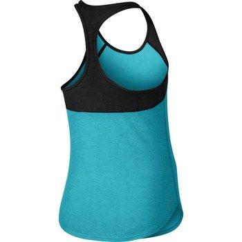 koszulka tenisowa dziewczęca NIKE SLAM TANK / 724715-418