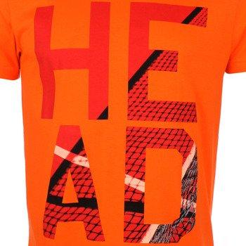 koszulka tenisowa męska HEAD CARLO T-SHIRT / 811445 OR
