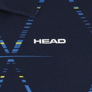 koszulka tenisowa męska HEAD QUICK POLOSH BUTTON / 811154 NVBC