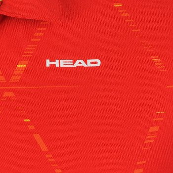 koszulka tenisowa męska HEAD QUICK POLOSH BUTTON / 811154 ROFL